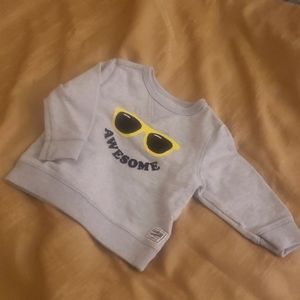 Baby boy pull over sweater